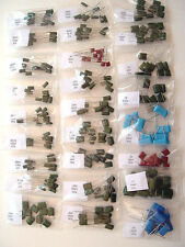Radial Film Capacitor Assortment 28 Values 280 Piece Kit New Lot