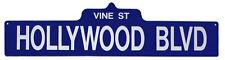 Hollywood Blue (Vine) Street Sign - 3060
