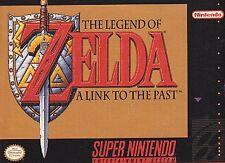 90-Day Warranty -Zelda  A Link to the Past (Super Nintendo SNES) Refurbished