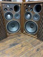 Vintage Sansui SP-2000 Stereo Speaker!  King of the 1970's!