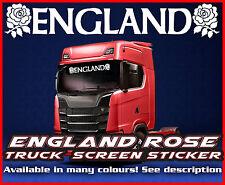 England Lorry Truck wind screen sticker Glass Cab Window HGV MAN DAF SCANIA