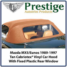 Mazda MX5 MX-5 Eunos MK1 NA Car Hood Hoods Soft Top Roof Roofs New 1989-1997