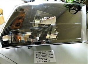 2015-2018 OEM Dodge Ram 1500 Right Passenger Side Halogen Black Quad Headlight