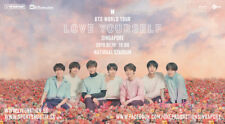 "*BTS* World tour Singapore ""Love Yourself"" Concert Tickets"