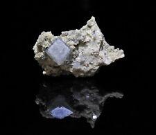 Fluorit auf Quarz, Dörfel, Erzgebirge