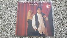 """Michael fortunati-Give Me Up 12"""" discoteca vinilo"""