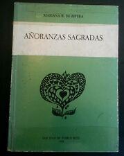 Anoranzas Sagradas pr Mariana R de Rivera San Sebastian Puerto Rico