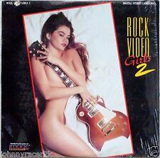ROCK VIDEO GIRLS 2 Laserdisc Ladies of Music Videos Rod Stewart, Motley Crue LD