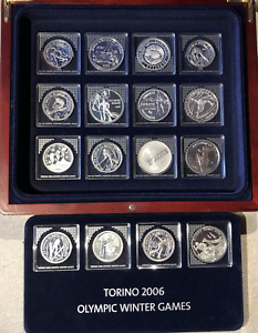 Silver coin Collection: Olympic Winter Games Torino 2006