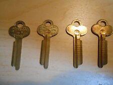 Vintage ILCO 1046 Key Blanks for Yale. Set of 4 NOS