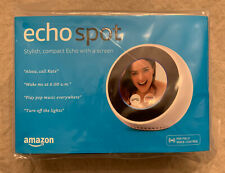 NEW & SEALED - Amazon Echo Spot Smart Assistant (Alexa) - White