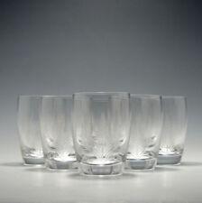 Britain Tumbler Clear Crystal & Cut Glass