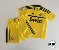 Real Madrid 2011/12 Goalie Football Kit Shirt Yxs Adidas Vintage Soccer Jersey