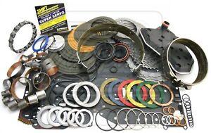 Fits Ford 4R70W Transmission Deluxe Rebuild Kit 98-03 2 W/ Overdrive Super Servo