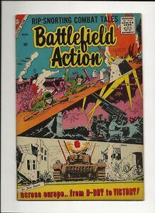 BATTLEFIELD ACTION #18 1958 CHARLTON SILVER AGE WAR VG