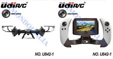 RC QUADRICOTTERO - DRONE  UDIRC   U842 FPV LARK ( VISIONE IN TEMPO REALE)!!!