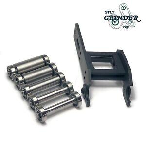 Belt Grinder 2x72 Small Wheel Holder Set 5 Sizes For knife Grinders Knife Making