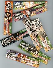 5 X Packs CHEECH & CHONG  KING SIZE HEMP Rolling Papers - Assorted Designs NEW!