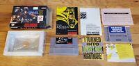 Batman Returns Super Nintendo SNES Konami Complete CIB Manual Box DC Comics Lot!