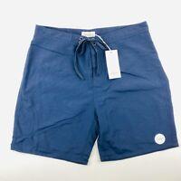 Saturdays NYC Surf Men's Board Shorts Swimwear Boardies Navy Size 32 RRP: $115