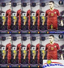 (10) 2016 Panini Adrenalyn Road to Euro Eden Hazard Limited Edition MINT !