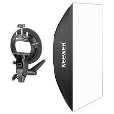Neewer 24x36 inch Rectangular Softbox with Bowens Mount and S Bracket Holder