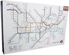 London Underground Map 1000 Piece Jigsaw Puzzle 750mm x 500mm (rf) BRAND NEW!