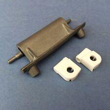 CREDA WASHING MACHINE Door Hinge Kit - Alloy hinge & Plastic Seat Bearings x2