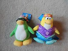 Disney Club Penguin Aunt Artic and Mermaid Plush - NO CODES