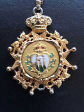 Royal Crown Pendent Necklace Nettie Rosenstein Vintage unique