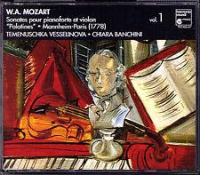 MOZART Palatines Violin Sonatas CHIARA BANCHINI HM 2CD Temenuschka Vesselinova