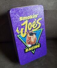 1994 Smokin Joe's Camel Cigarette Tin Metal Box NASCAR Racing Vintage