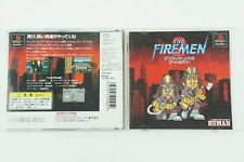 The Firemen 2 PS1 HUMAN Sony Playstation 1 From Japan