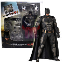 "Batman Justice League Tactical Suit 6"" Action Figure Medicom Mafex #64 DC 1:12"