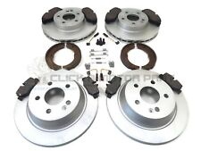 MERCEDES VITO 04-14 FRONT REAR BRAKE DISCS PADS SHOES FIT KIT 4 SENSORS (BREMBO)