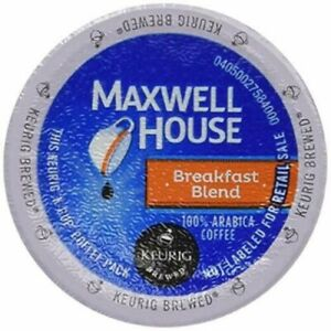 Maxwell House Breakfast Blend Coffee K-Cups  (select quantity)