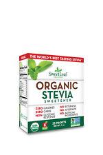 SweetLeaf Organic Stevia Sweetener -35 Packets