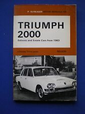 Olyslager Motor Manual - Triumph 2000  from 1963