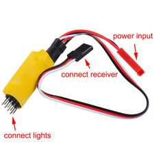 RC Receiver Four-channels Controlled Switch Car Lights Remote For RC Model Car