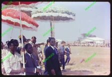 5+2 Color Slides TOGO AFRICA 1960s Presidential Inauguration GRUNITZY Eyadéma ?