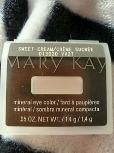 Mary Kay Mineral Eye Color Sweet Cream 013020 .05 oz