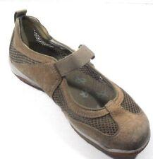 "Merrell ""Lorelei Emme"" Women's Deep Tan Suede Leather/Mesh Mary Janes 6.5M"