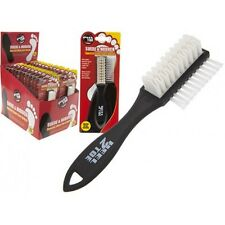 Suede & Nubuck Shoe Care Double Sided Brush Soft Rubber Cleaning Cleaner Boot