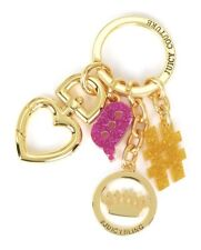Juicy Couture Text Key Ring fob Purse Charm NEW