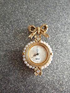 1928 company ladies vintage fob watch - excellent condition