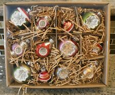 New Pottery Barn MIXED VINTAGE MERCURY Christmas Holiday Ornaments - Set of 12