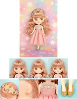"""Takara Tomy Japan CWC Shop Limited 8"""" Middie Blythe Doll Bubbly Bliss"""