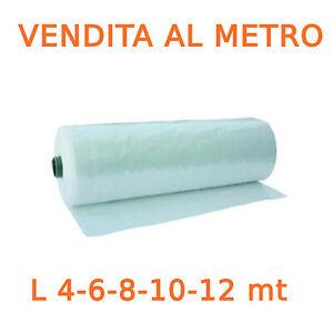 Telo telone serra trasparente foglia polietilene A12 additivato 3 strati A METRO
