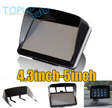 Universal Sun Shade Visor Screen For GPS Sat Nav With 4.3'' or 5''Inch Screen