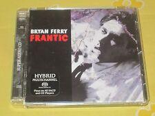 BRYAN FERRY - Frantic - SACD - Multichannel - Roxy Music